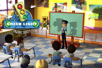 Traffic safety cartoons TV show for kids