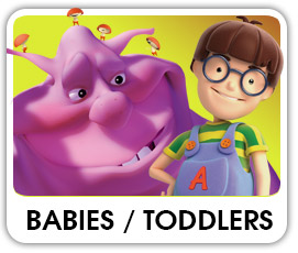 Babies, toddlers and preschoolers videos of cartoon