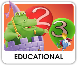 Educational cartoon videos and animated series